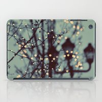 dragon ball z iPad Cases featuring Winter Lights by elle moss
