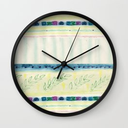 Inspired by spring Wall Clock