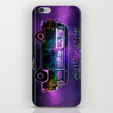 adventure awaits world map design 3 iPhone & iPod Skin