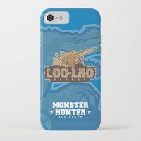 monster hunter iPhone & iPod Cases featuring Monster Hunter All Stars - Loc-Lac Riders by Bleached ink