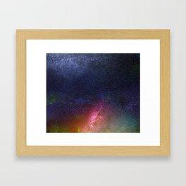 Galaxy XII Framed Art Print
