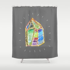 mystery of childhood. Shower Curtain