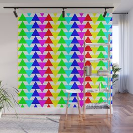 Triangalight-excite! Wall Mural