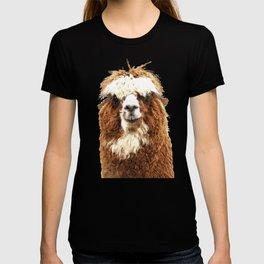 Alpaca Portrait T-shirt