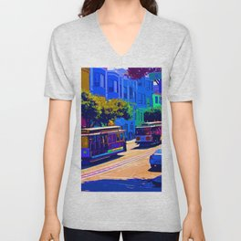 San Francisco 002 Unisex V-Neck