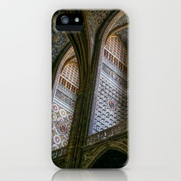 Albi Cathedral, Albi,Languedoc, France. iPhone Case