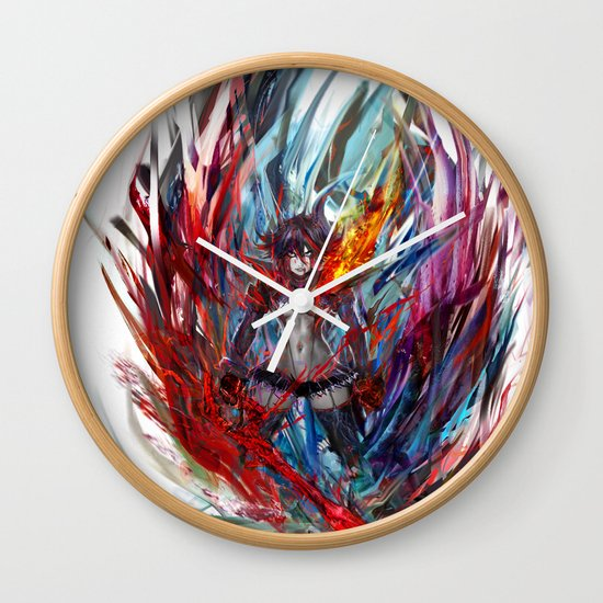 Ryuko Matoi Wall Clock