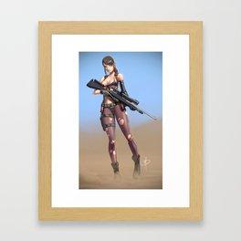 Quiet time Framed Art Print