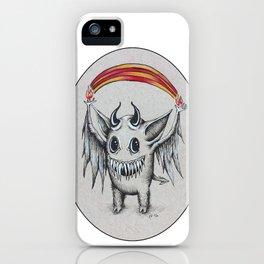 Happy Rainbow of Hellfire iPhone Case