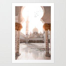 Mezquita Sheikh Zayed Art Print