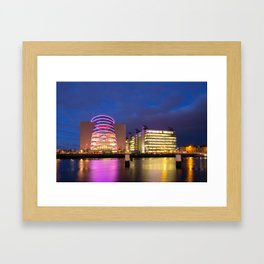Modern Architecture in Dublin Framed Art Print