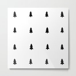 Pine Patter Metal Print