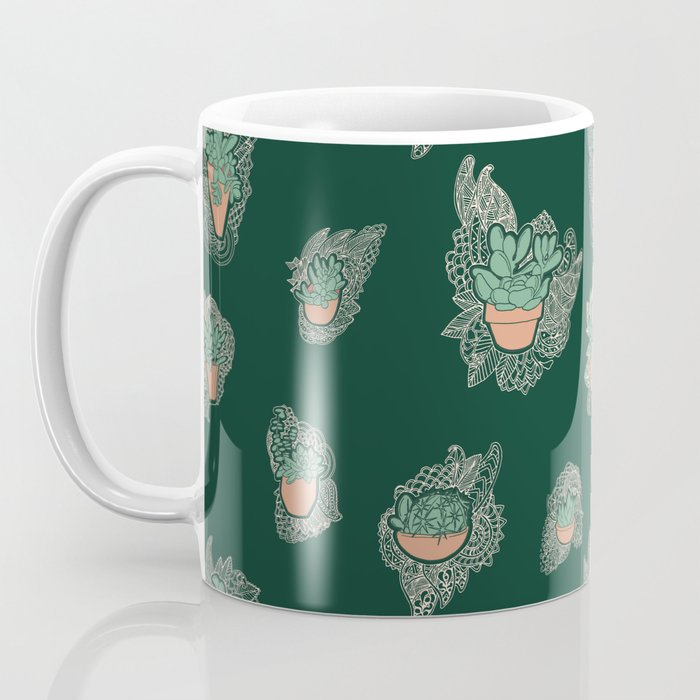 Desert Lace Coffee Mug