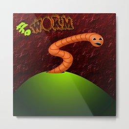 The Worm Metal Print