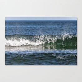 Beach Wave 0379 Canvas Print