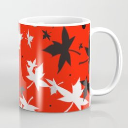 Forever Autumn Leaves red 5 Coffee Mug
