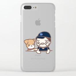 Chris & Dodger 2 Clear iPhone Case