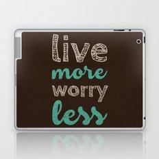 More or Less Laptop & iPad Skin