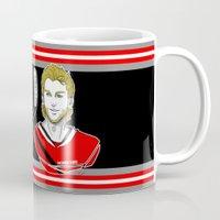 blackhawks Mugs featuring Toews & Kane by Kana Aiysoublood