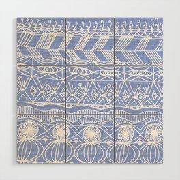 Periwinkle Blanket Wood Wall Art