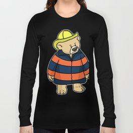 Firefighter 511 gift savior fire hero job shirts Long Sleeve T-shirt