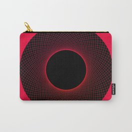 Strawberry Vortex Red Carry-All Pouch