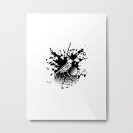 Bird Gard Metal Print