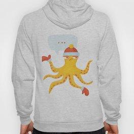 Grumpy Christmas Octopus Hoody
