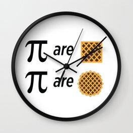 Mike Montgomery's Pi Joke Wall Clock