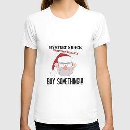 A Mystery Shack Christmas T-shirt