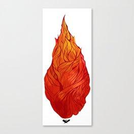 Fiery Soul Canvas Print