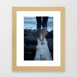 Where Feet May Fail Framed Art Print