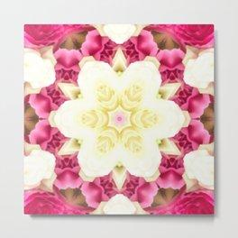 Star Flower of Symmetry 495 Metal Print