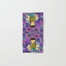 Bee Girl Hand & Bath Towel