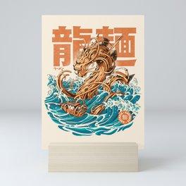 Great Ramen Dragon off Kanagawa Mini Art Print