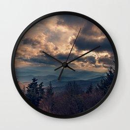 Roan Mountain 2 Wall Clock