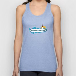 Wellfleet, Cape Cod Unisex Tank Top