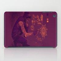 zayn iPad Cases featuring Zayn by RockitRocket