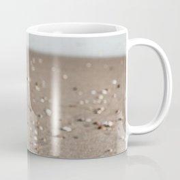 Seashells on Beach Coffee Mug