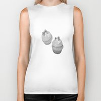 cupcakes Biker Tanks featuring Cupcakes by Ashley Casperson