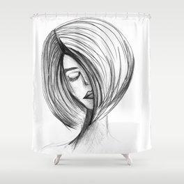 Girlie 01 Shower Curtain