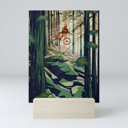MY THERAPY MOUNTAIN BIKE POSTER Mini Art Print