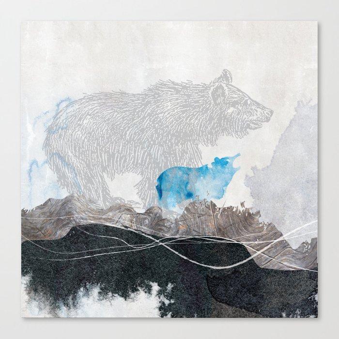 Bear Your Soul 1 Canvas Print