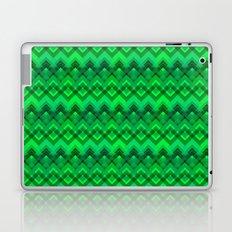 Green Plaid Weave  Laptop & iPad Skin