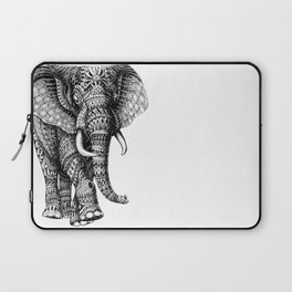 Ornate Elephant v.2 Laptop Sleeve