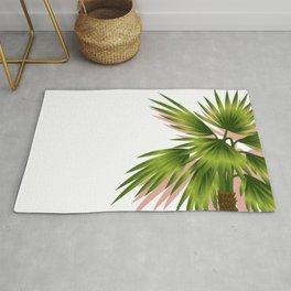 Minimal - Palm Tree leafs series - I.- Rug