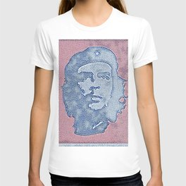 Che Guevara Ideal Artistic Illustration Book Cover Style T-shirt