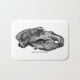 Cave Bear Skull Bath Mat