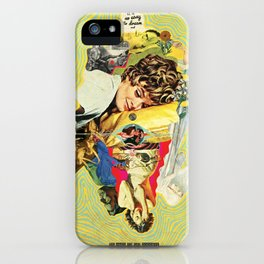 It's So Easy To Dream And So Hard To Say Goodbye iPhone Case