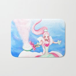 Magical anime girl Bath Mat